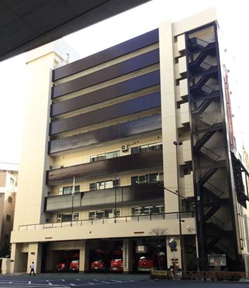 板橋消防署 外壁その他改修⼯事